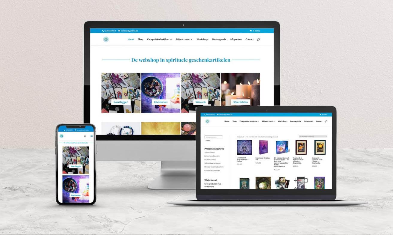 spirituele-website-webshop-design